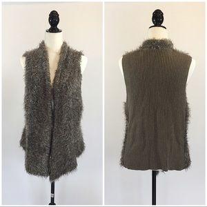 CABI Fur Vest